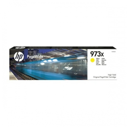 HP Ink No.973X Yellow (F6T83AE)