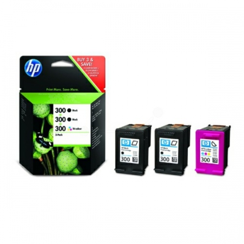 HP Ink Combo Pack No.300 1x Black / 1x Color (SD518AE)