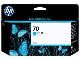 HP Ink No.70 Cyan (C9452A)