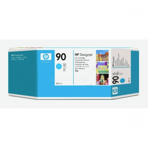 HP Ink No.90 Cyan(C5060A)