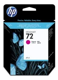 HP 72 Magenta 69 ml. expired date