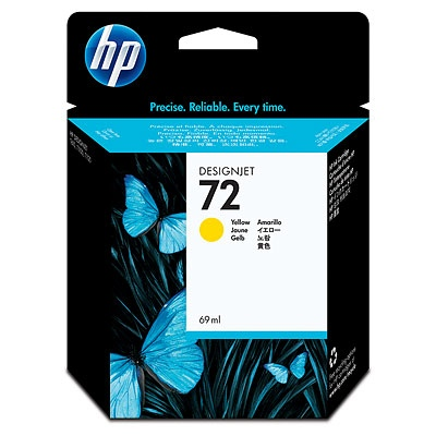 HP Ink No.72 Yellow (C9400A)