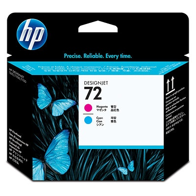 HP Ink No.72 Cyan and Magenta (C9383A)