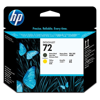 HP Ink No.72 Matt black/Yellow (C9384A)