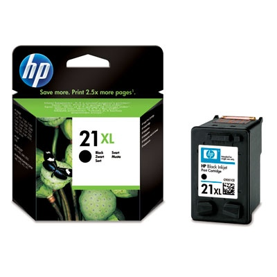 HP Ink No.21 XL Black (C9351CE)