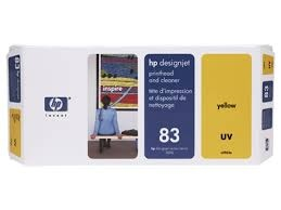 HP Printhead C4963A Yellow No.83 + Cleaner