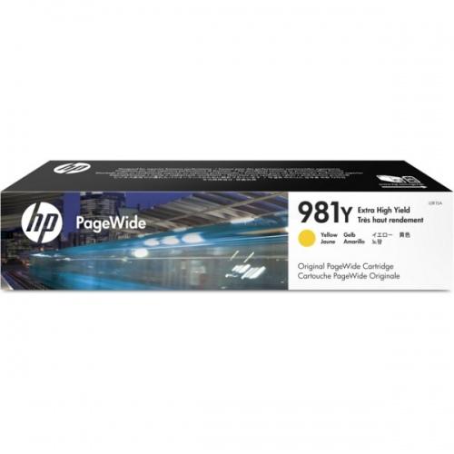HP Ink No.981Y Yellow (L0R15A)