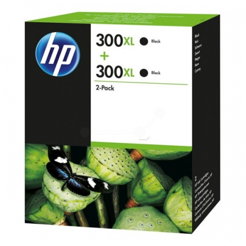 HP Ink No.300XL Black Dual Pack (D8J44AE)