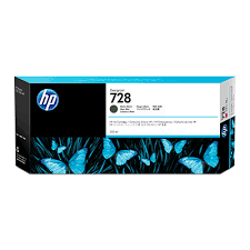 HP Ink No.728 Matt Black (F9J68A)