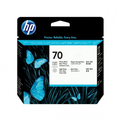 HP Printhead No.70 Black + Light Grey (C9407A)