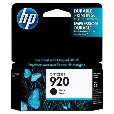 HP Ink No.920 Black (CD971AE)