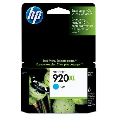 HP Ink No.920 XL Cyan (CD972AE)