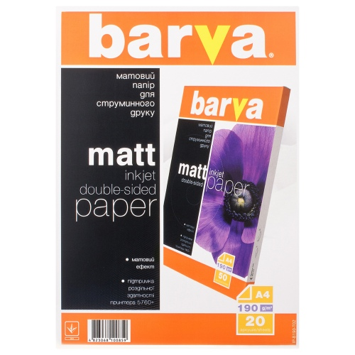 Photo paper Barva Double-sided Mate