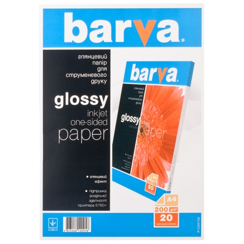 Photo paper Barva Glossy
