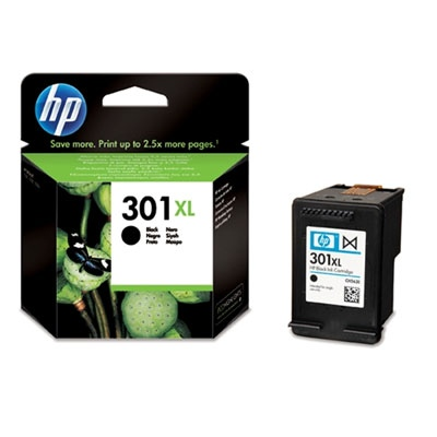 HP Ink No.301 XL Black (CH563EE)