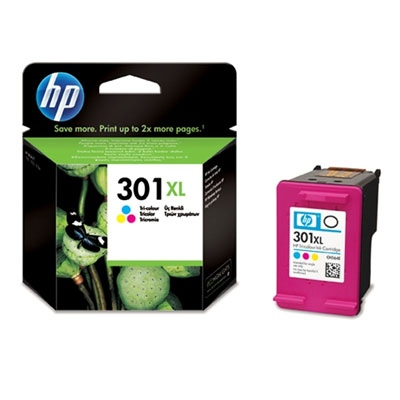 HP Ink No.301 XL Color (CH564EE)