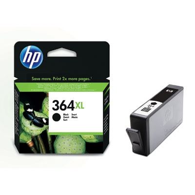HP Ink No.364 XL Black (CN684EE) (alt : CB321EE)