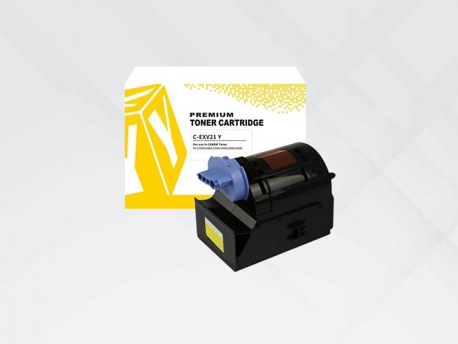 Compatible HYB Canon EXV21Y Yellow, 14000 p.