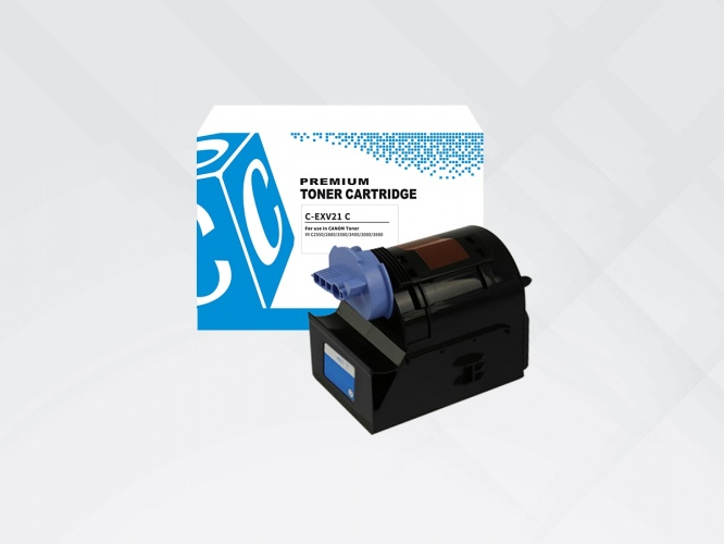 Compatible HYB Canon EXV21C Cyan, 14000 p.