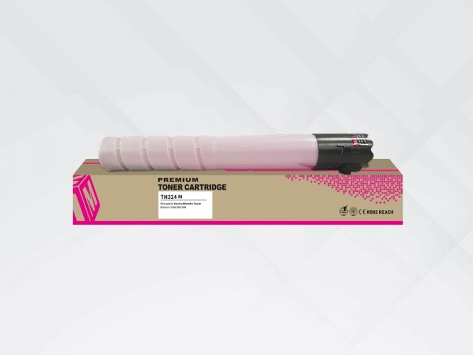 Compatible HYB Konica-Minolta Toner TN-324 Magenta (A8DA350)350/A33K352)