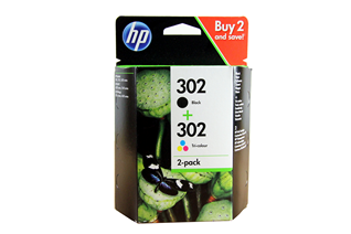 HP Ink No.302 Black + Color (X4D37AE)