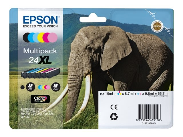 Epson Ink Multipack No.24XL (C13T24384011)