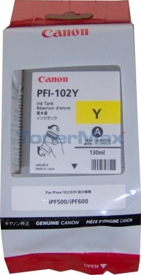 Canon Ink PFI-102 Yellow (0898B001)