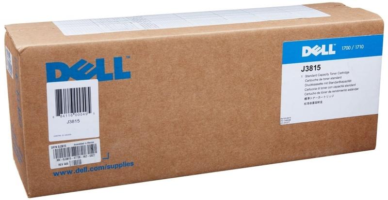 Dell Toner 1700 Black LC (593-10040) Return 3k (J3815) (593-10101)