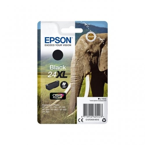 Epson Ink No.24 XL Black (C13T24314012)