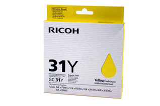 Ricoh Ink Cart. GC31Y Yellow (405691)