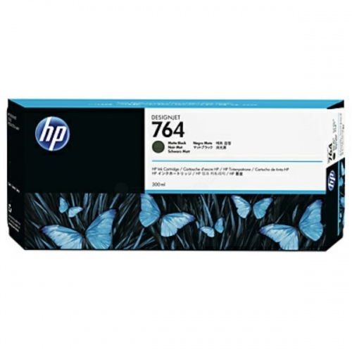 HP Ink No.764 Matt Black (C1Q16A)