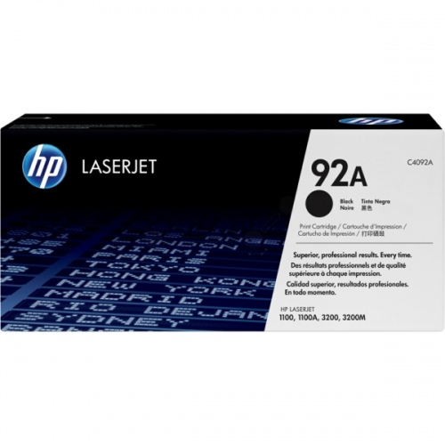 HP Cartridge No.92A Black (C4092A)