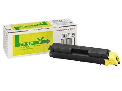 Kyocera Toner TK-580 Yellow (1T02KTANL0)