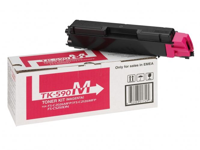 Kyocera Toner TK-590 Magenta (1T02KVBNL0)
