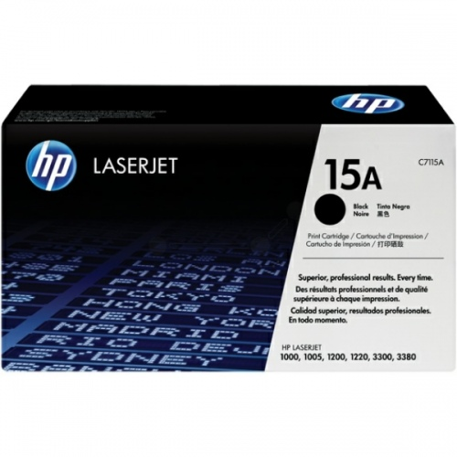 HP Cartridge No.15A Black (C7115A)