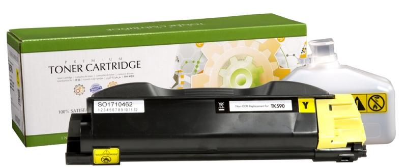 Compatible Static-Control Kyocera TK-590Y