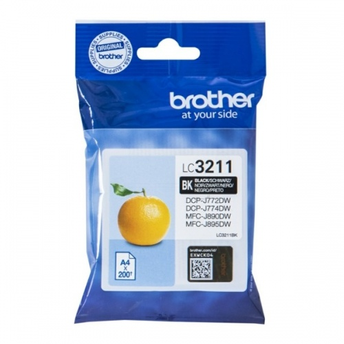 Brother Ink LC 3211 Black (LC3211BK)
