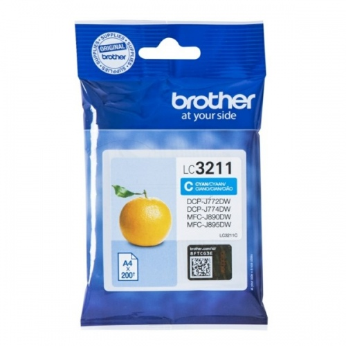 Brother Ink LC 3211 Cyan (LC3211C)