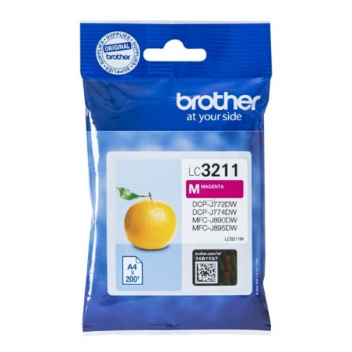 Brother Ink LC 3211 Magenta (LC3211M)