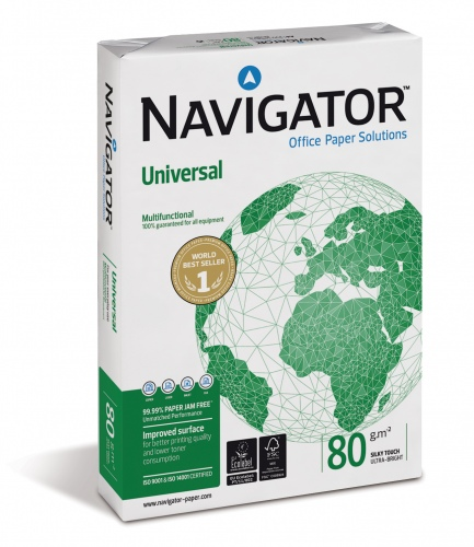 Paper NAVIGATOR A4, 80g, 500 sheets