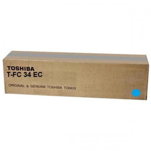 Toshiba Toner T-FC34EC Cyan (6A000001524)