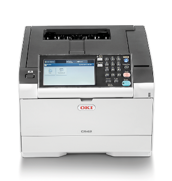 OKI C542dn (46356132), new laser printer, color