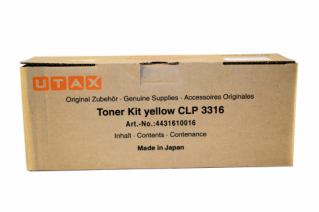 Utax Toner CLP 3316 Yellow (4431610016)