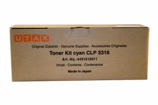 Utax Toner CLP 3316 Cyan (4431610011)