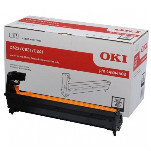 OKI C822/831/841 Juoda 30K 44844408
