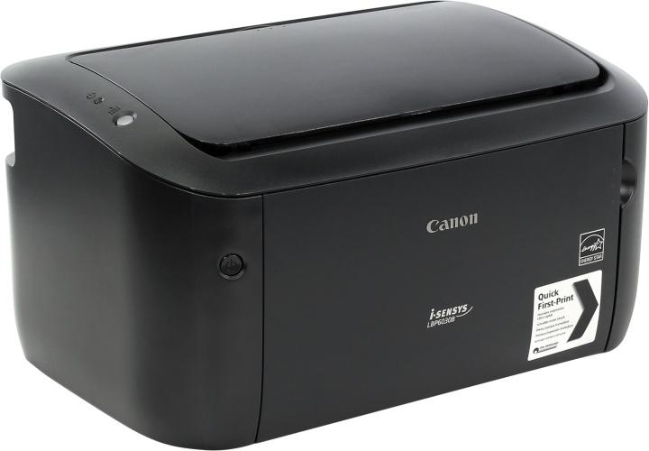 New laser printer, black and white, Canon i-SENSYS LBP6030B, Black