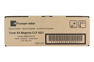 Triumph Adler Toner CLP 4521/ Utax Toner CLP 3521 Magenta (4452110114/ 4452110014)