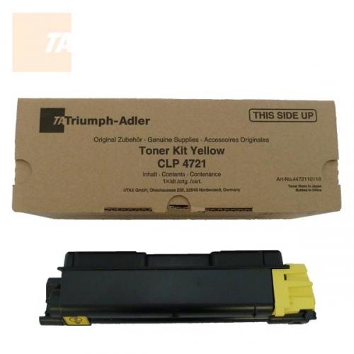 Triumph Adler Toner Kit CLP 4721 2,8k/ Utax Toner CLP 3721 Yellow (4472110116/ 4472110016)
