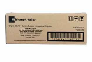 Triumph Adler Toner Kit CDC 4726/ Utax Toner CDC 1626 Cyan (4472610111/ 4472610011)