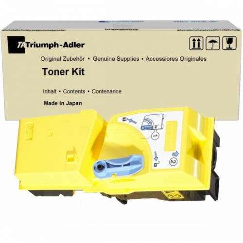 Triumph Adler Copy Kit DC-2520/ Utax Toner CDC 1520 Yellow (652010116/ 652010016)